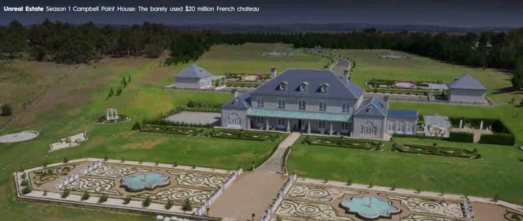 Campbell Point House The barely used 20 million French Chateau