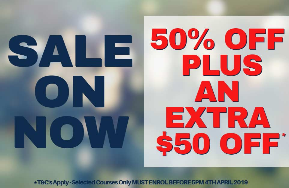 Entry Level Course 50% Off