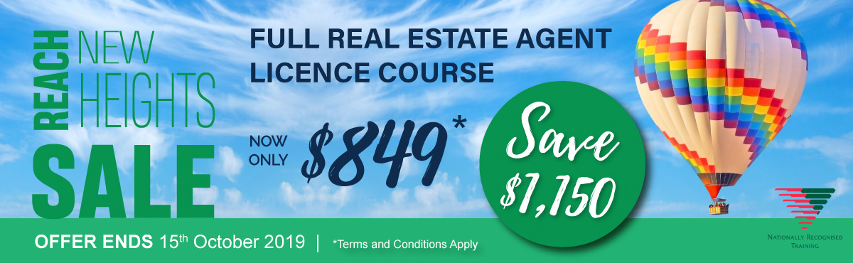 Real Estate Full Licence Course Banner