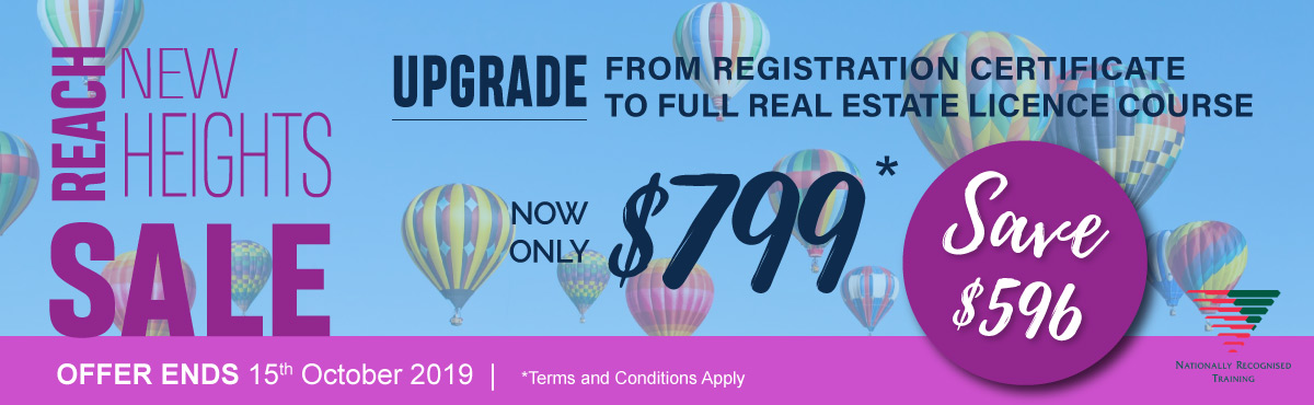 upgrade course sale banner