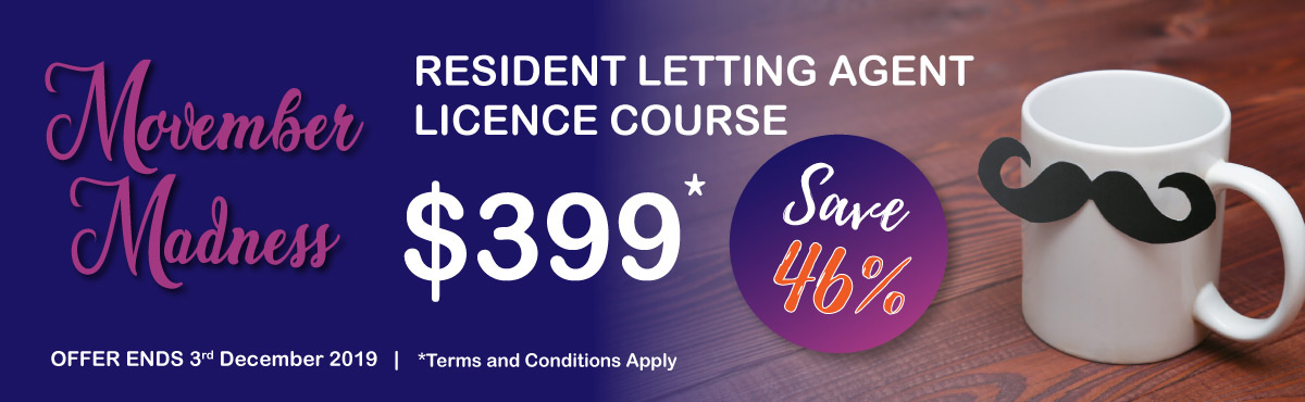Resident Letting Agent Course Banner