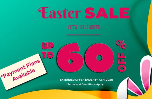 2020 Extended Easter Sale Save Up to 60% Off