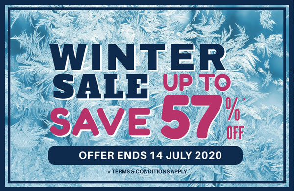 2020 Winter Sale Pop Up Banner