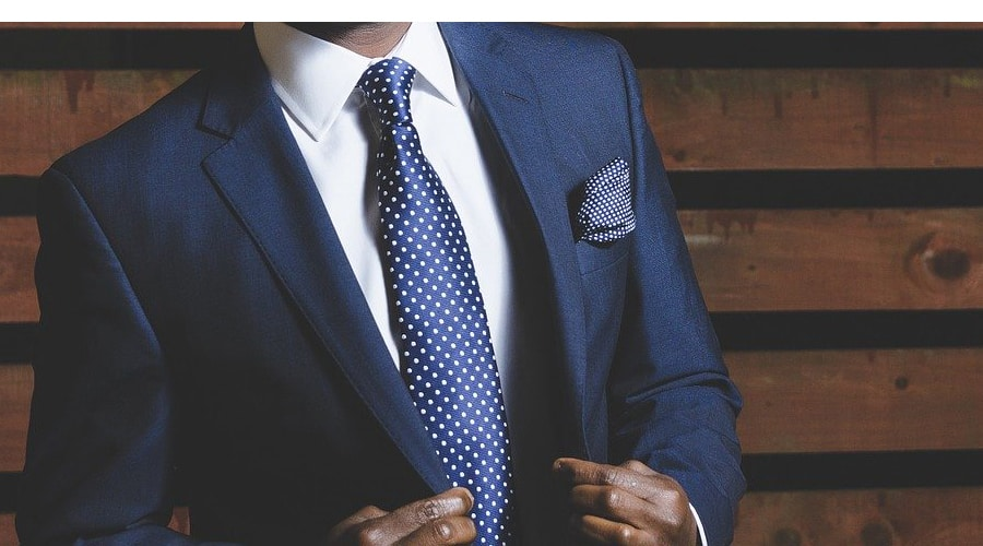 real estate agent in business suit